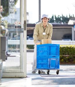 delivering omega spare parts
